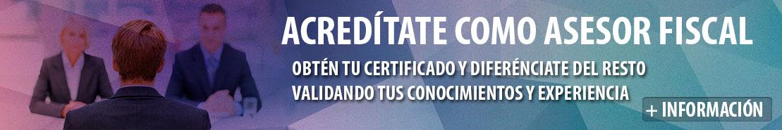Título de Asesor Fiscal Certificado