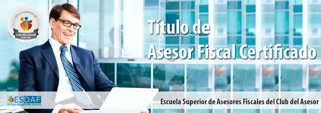 Título de Asesor Fiscal